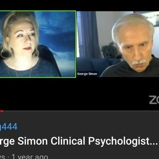 """Dr George Simon Clinical Psychologist... Author of """" In Sheeps Clothing """""""