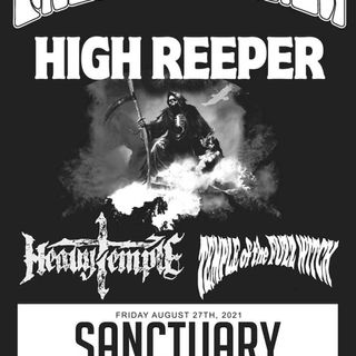 Freedom Hawk High Reeper Heavy Temple TOTFW @ The Sanctuary 8/27