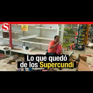 La desoladora foto de Luis, un hombre que administraba un Supercundi