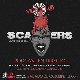 Sábado 26 Oct. Carne de Videoclub en Barcelona - Scanners David Cronenberg