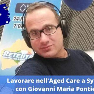 Ep.169 - Lavorare nell'Aged Care a Sydney, con Giovanni Maria Pontieri