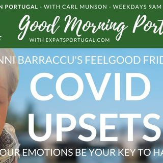 Pandemic upsets: is your anger your key to healing? Feelgood Friday with Jenni B on the GMP!