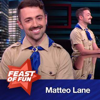 FOF #2218 – Matteo Lane Gets a Merit Badge in Comedy