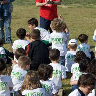 Lo show di Rugby nei Parchi