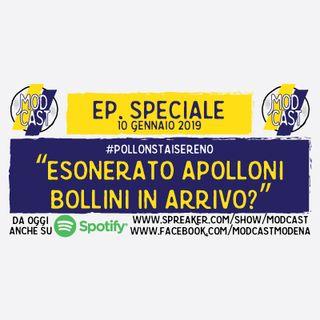 """ModCast - """"Esonerato Apolloni. Bollini in arrivo?"""" - Episodio speciale"""
