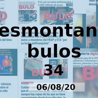 Desmontando bulos 35 (06/08/20)
