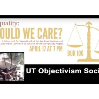 Yaron Brook and Dr. James Galbraith Debate: Inequality: Should We Care?