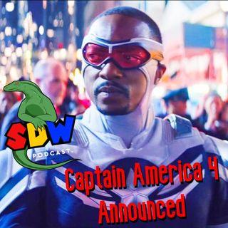Captain America 4 Announced