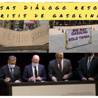 Escuche Diálogo promete gasolina? Martes #17Ago 2021 Caiga quien Caiga