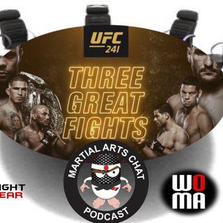 UFC 241 Preview
