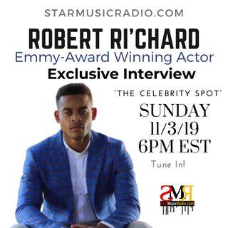 Emmy Award Winning Actor Robert Ri'chard Interview with T-Huny 11.03.2019