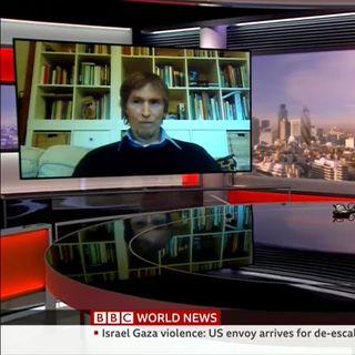 Israel Gaza-BBC World News 15 May 2021 - Dr Eyal Mayroz