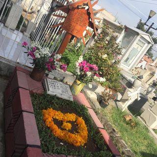 Cementerios en México para celebrar el Día de Muertos. El perro y el Mictlán 3 nov.