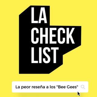 La Checklist #1 - Una Noche con los Bee Gees