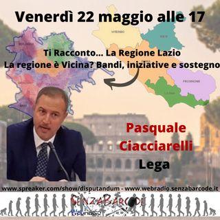 Pasquale Ciacciarelli, Lega, al Consiglio regionale del Lazio
