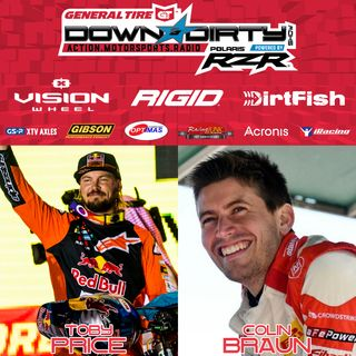 #414 - Toby Price & Colin Braun On Air!