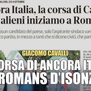 Giacomo Cavalli Mi candido con Ancora Italia per trasformare la realtà