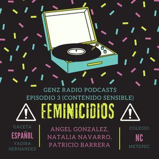 Podcast 3: Feminicidios