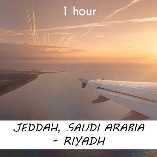 Jeddah - Riyadh | 1 hour AIRPLANE Sound Podcast | White Noise | ASMR sounds for deep Sleep | Relax | Meditation | Colicky