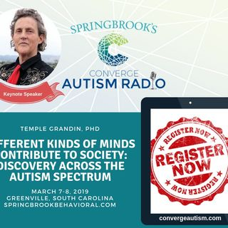 Different Kinds of Minds Contribute to Society with Temple Grandin, PhD