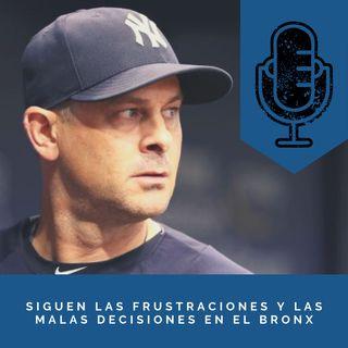Siguen las frustraciones y malas decisiones en el Bronx