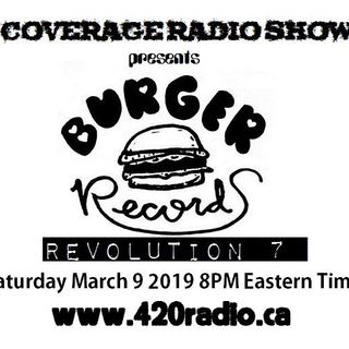 The Coverage Radio Show #131 - The Burger Records Revolution 7 Special Episode.