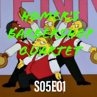 47) S05E01 (Homer's Babershop Quartet)