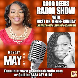 Author Makala Taylor Shares on Good Deeds Radio Show