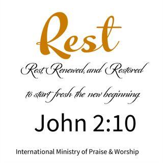Jesus restored it all!
