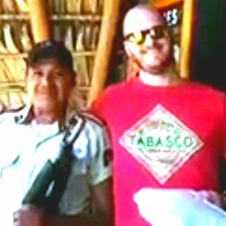 My best man kidnapped me to El Salvador.