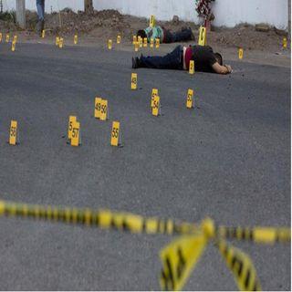Repuntan homicidios en nuestro país