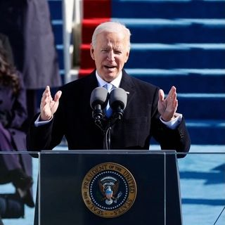 Joseph R. Biden Jr 46th President of The United States of America Inauguration Ceremony Speech on The Rahshaud Copeland Show