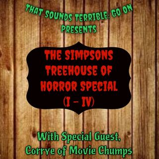 Episode 13 - The Top 5 Simpsons Treehouse of Horror Vignettes (I-IV)