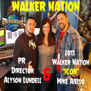 Ep 86 Mike Aiello & Alyson Lundell from Universal Orlando