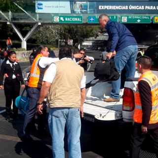 Llegaron a México 18 estudiantes desde China
