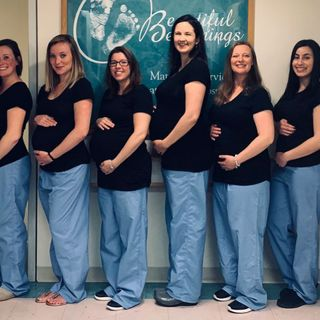 Eight Of Beverly Hospital's Maternity Ward Nurses Are Pregnant