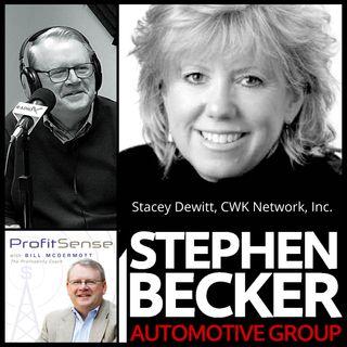 Stacey DeWitt, CWK Network Inc., and Stephen Becker, Stephen Becker Automotive Group (ProfitSense with Bill McDermott, Episode 16)