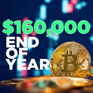 209. Bitcoin To $160,000 By End of Year? | BTC Price Prediction Study