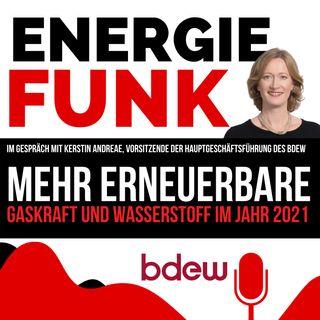 E&M ENERGIEFUNK - Mehr Erneuerbare, Gaskraft und Wasserstoff im Jahr 2021 - Podcast für die Energiewirtschaft