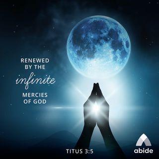Renewed by God's Mercy