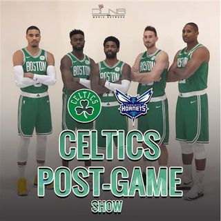 POST GAME: CELTICS vs. Hornets | Sep. 28 | Kyrie Irving | Kemba Walker