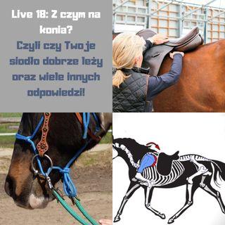 Live 18: Z czym na konia, czyli o dopasowaniu siodła i innych problemach
