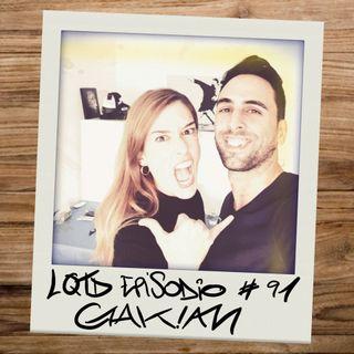 #91: Gakian - La reina del humor millennial