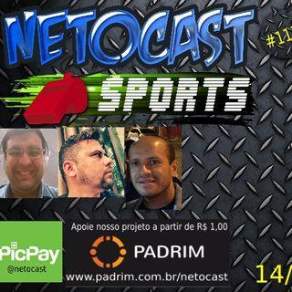 NETOCAST 1179 DE 14/08/2019 - ESPORTES - FUTEBOL - LIGA DE BASQUETE FEMININA - WNBA - NFL - NBA - UFC