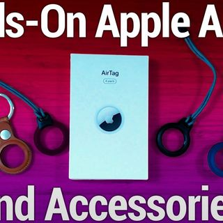 Hands-On Tech: Hands-On Apple AirTag & AirTag Accessories