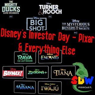 Disney's Investor Day - Pixar & Everything Else