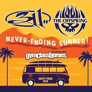 Mike Jones with 311 & The Offspring