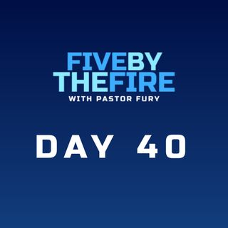 Day 40 -  The Things That Are God's