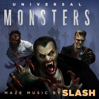 Especial SLASH UNIVERSAL MONSTERS MAZE SOUNDTRACK 2018 Classicos do Rock Podcast #Slash #UniversalMonstersMaze #Halloween #WeBelongDead
