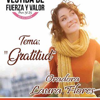 Laura Espinoza Flores Tema Gratitud